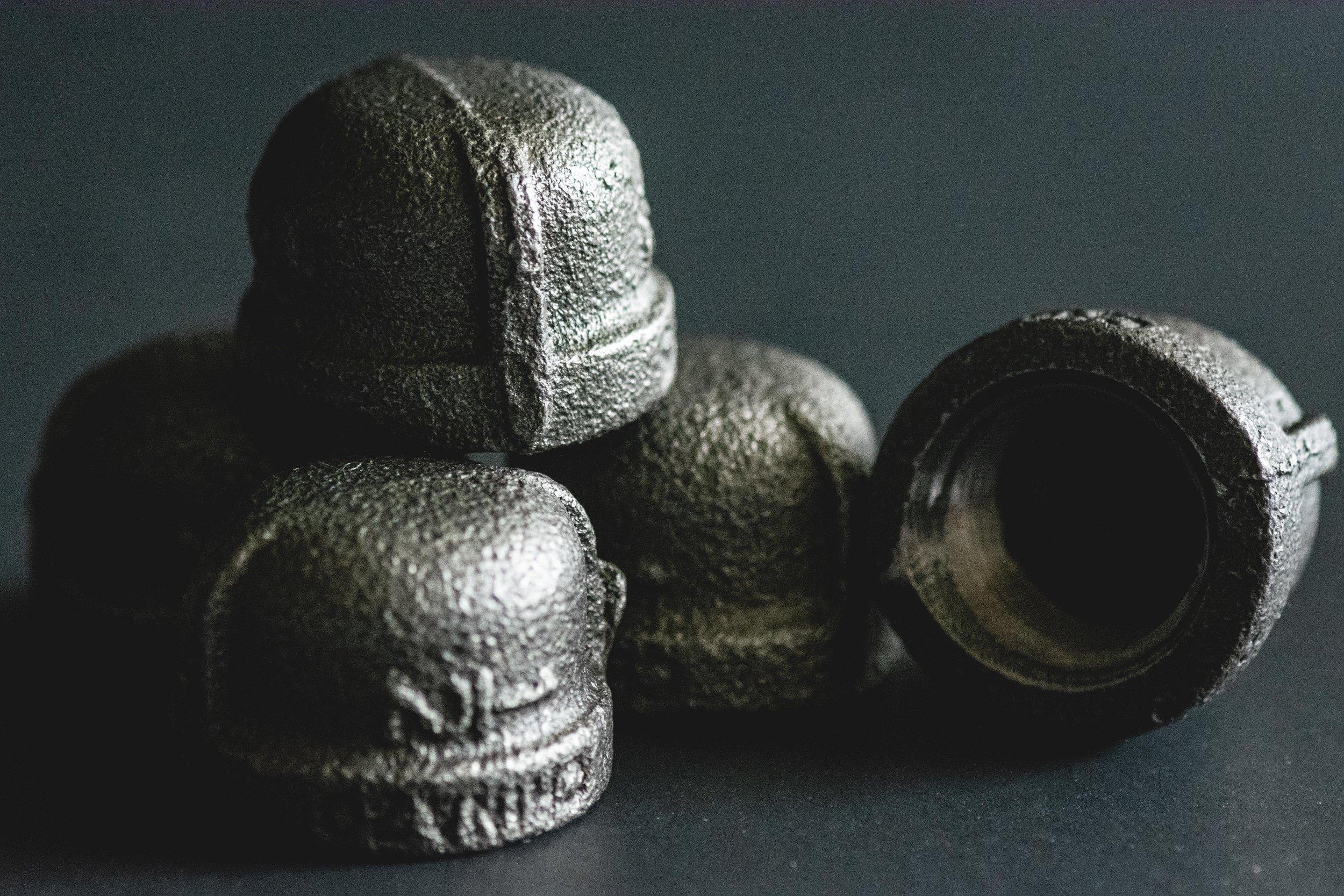 1/2 inch pipe caps