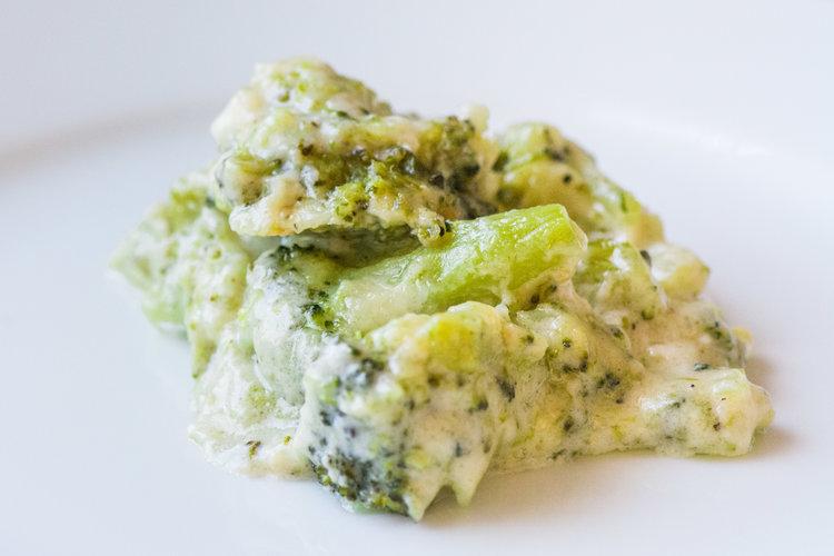 broccoli gruyere casser0le -