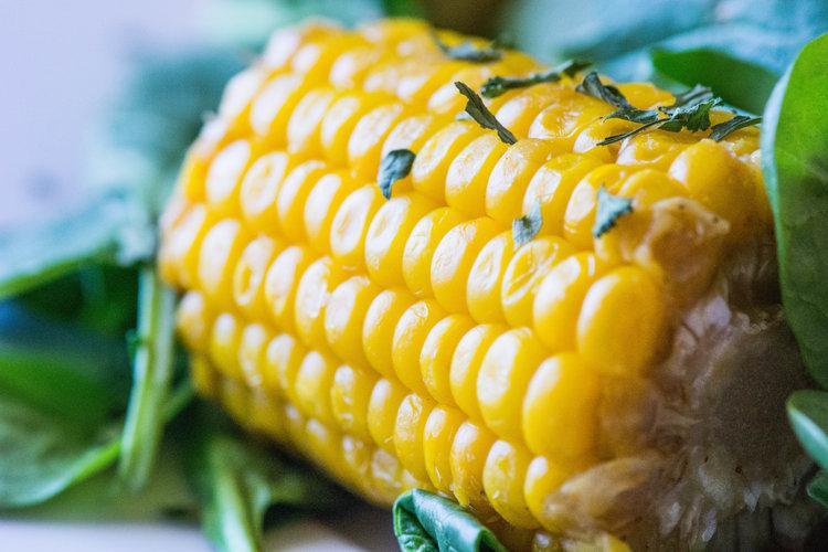 cajun boiled corn -