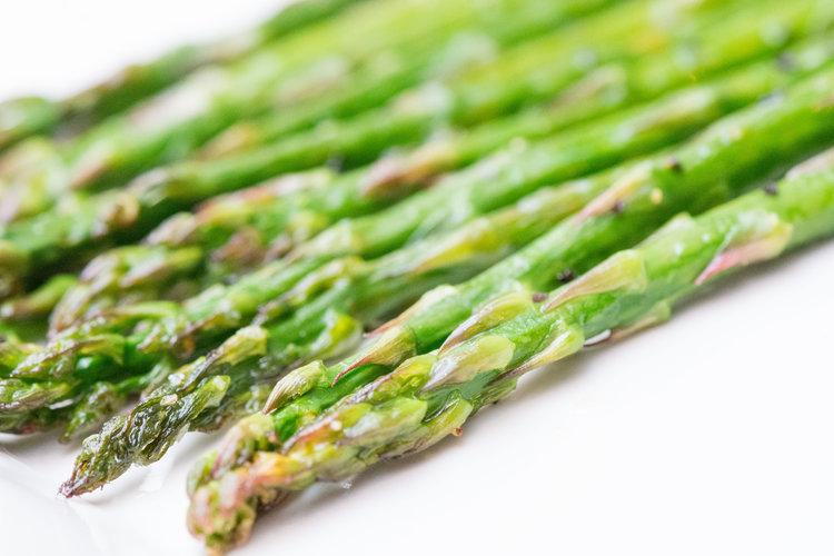roasted asparagus -