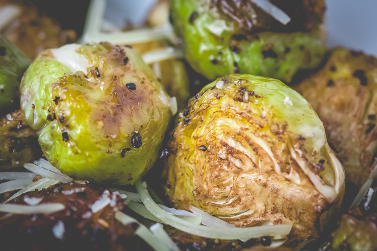 roasted brussels sprouts -