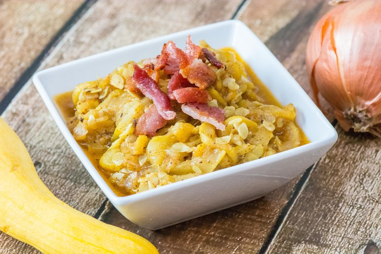 southern smothered squash -