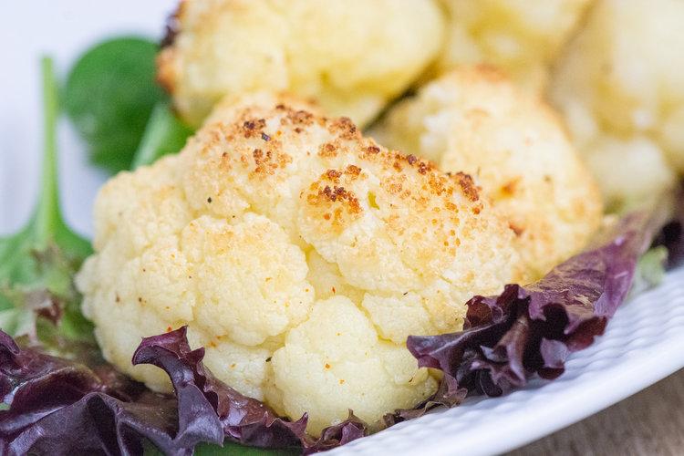 spiced cauliflower -