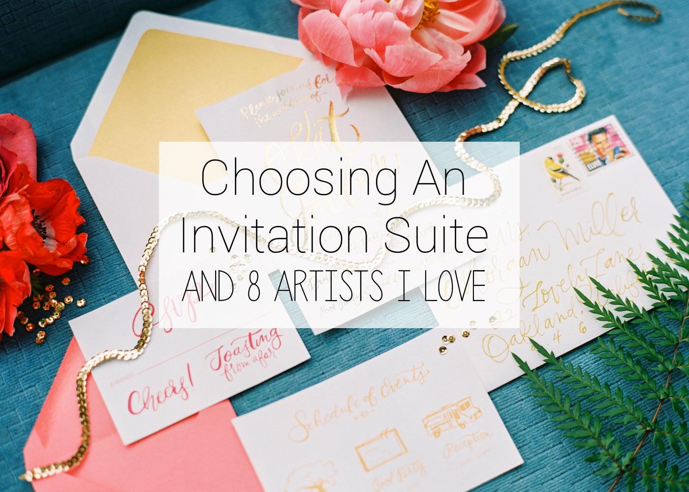 Spreading Lovely Blog - Invitation Suites
