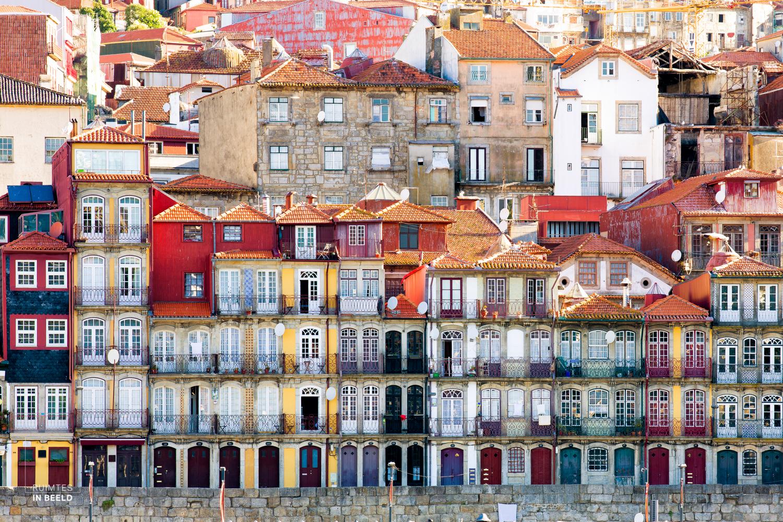 Ribeira in Porto, Portugal |Ribeira area in Porto, Portugal