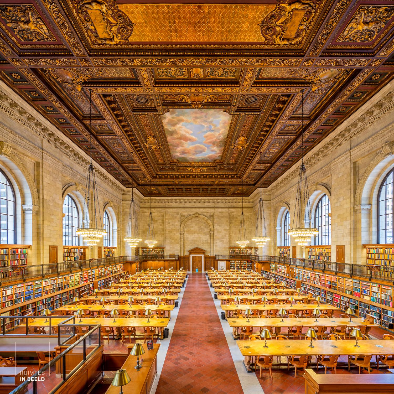 Rose reading room