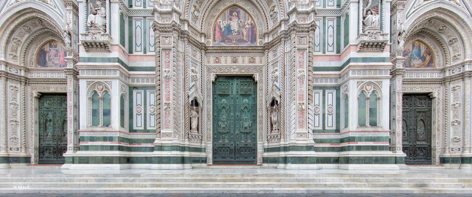 Entrance to the Duomo of Firenze, the Florence Cathedral