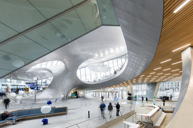 Draagconstructie Arnhem Centraal Station