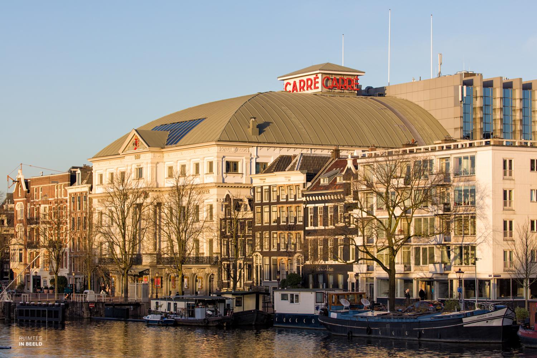 Buitenkant van Koninklijk Theater Carré in Amsterdam | Exterior of Royal Theater Carré in Amsterdam, Netherlands