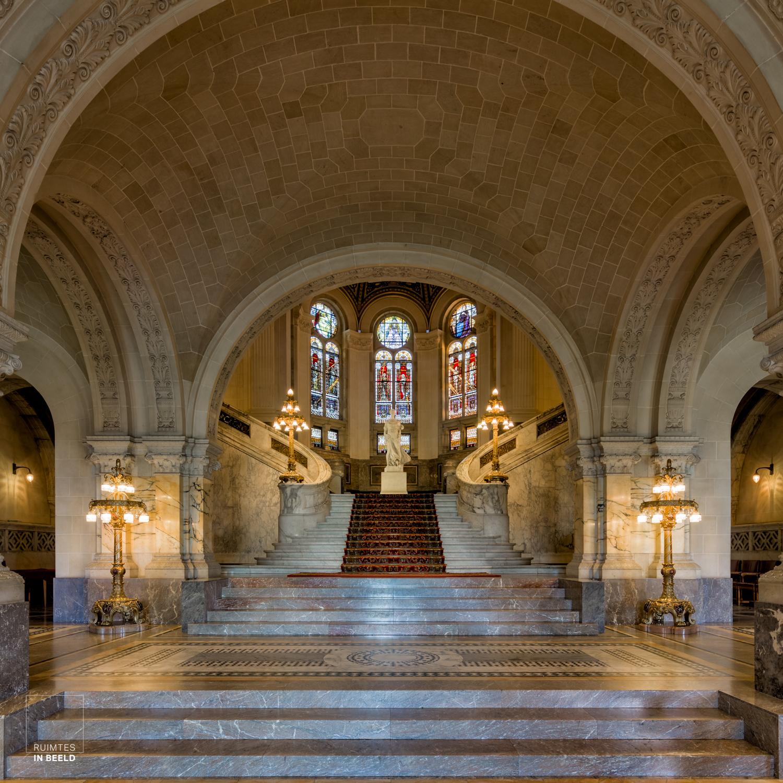 Interieur Vredespaleis