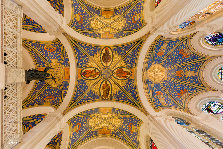 Plafond Vredespaleis
