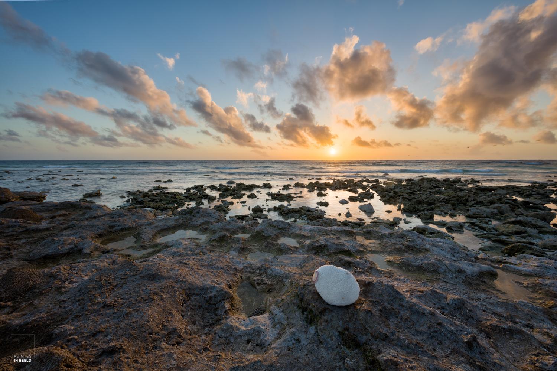 Zonsondergang op Lady Elliot Island