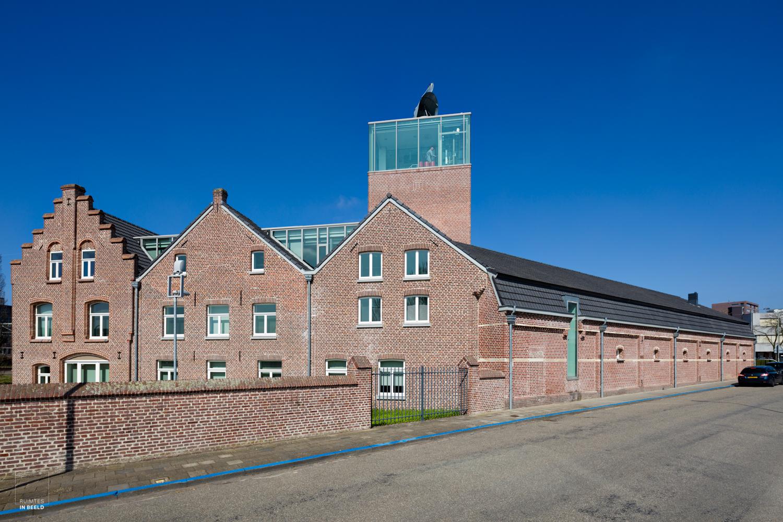 Exterieur van de voormalige Moutfabriek in Roermond