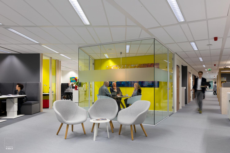 vergaderplek in kantoor