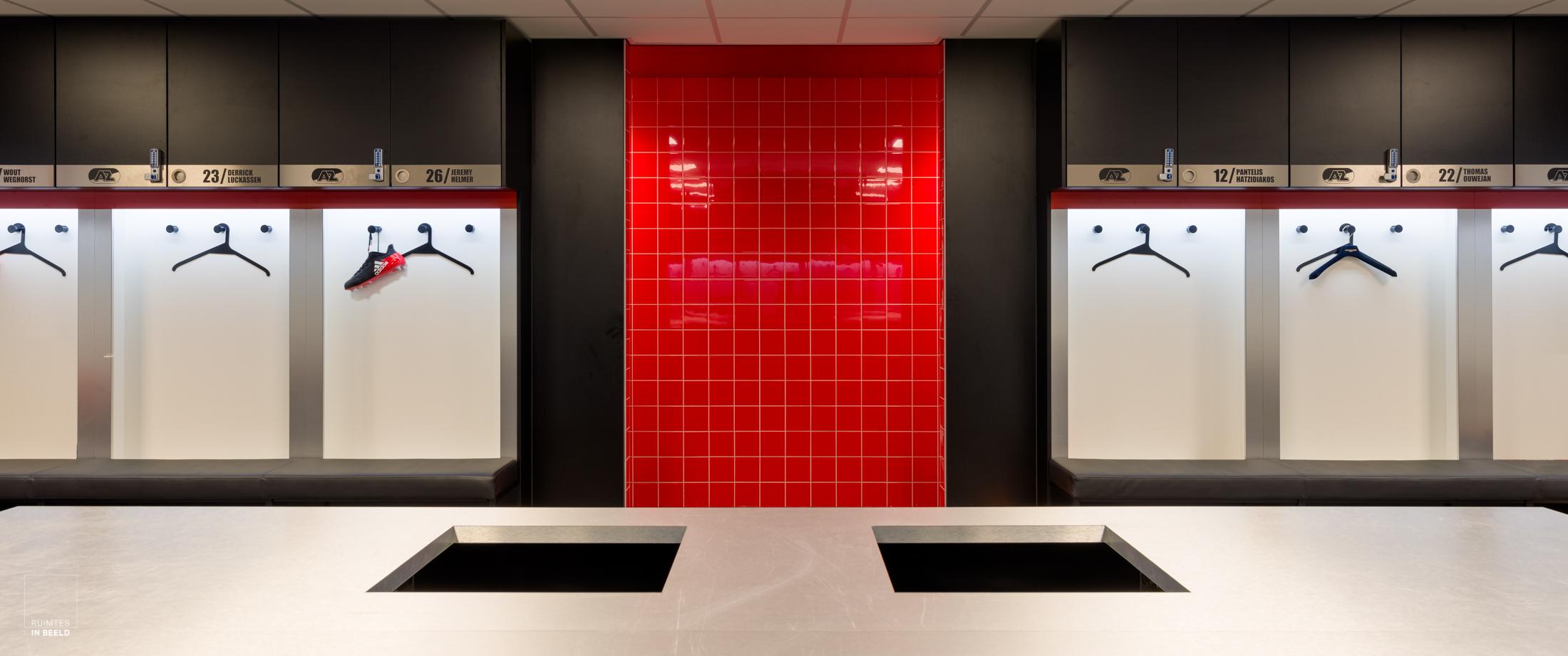 Architectuur van sportcomplexen is een specialisatie die fraai kan worden vastgelegd door een architectuurfotograaf