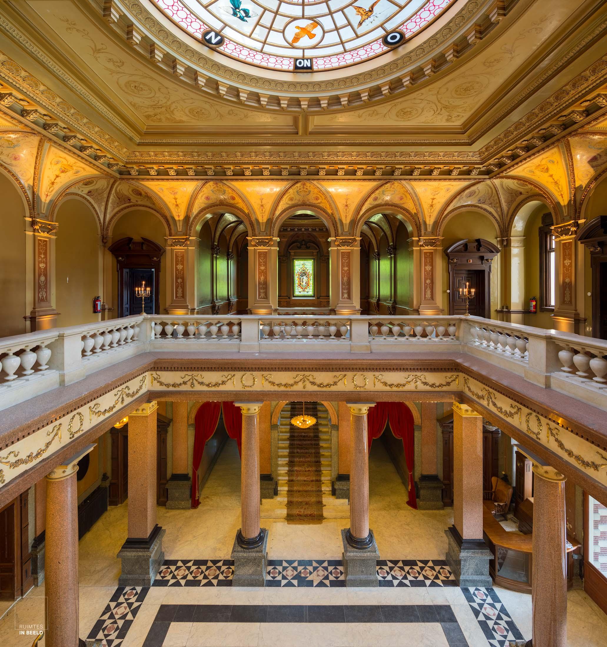 Musea en monumenten lenen zich prachtig voor de architectuurfotograaf vanwege hun structuur, detaillering en vaak erg mooie lichtval.