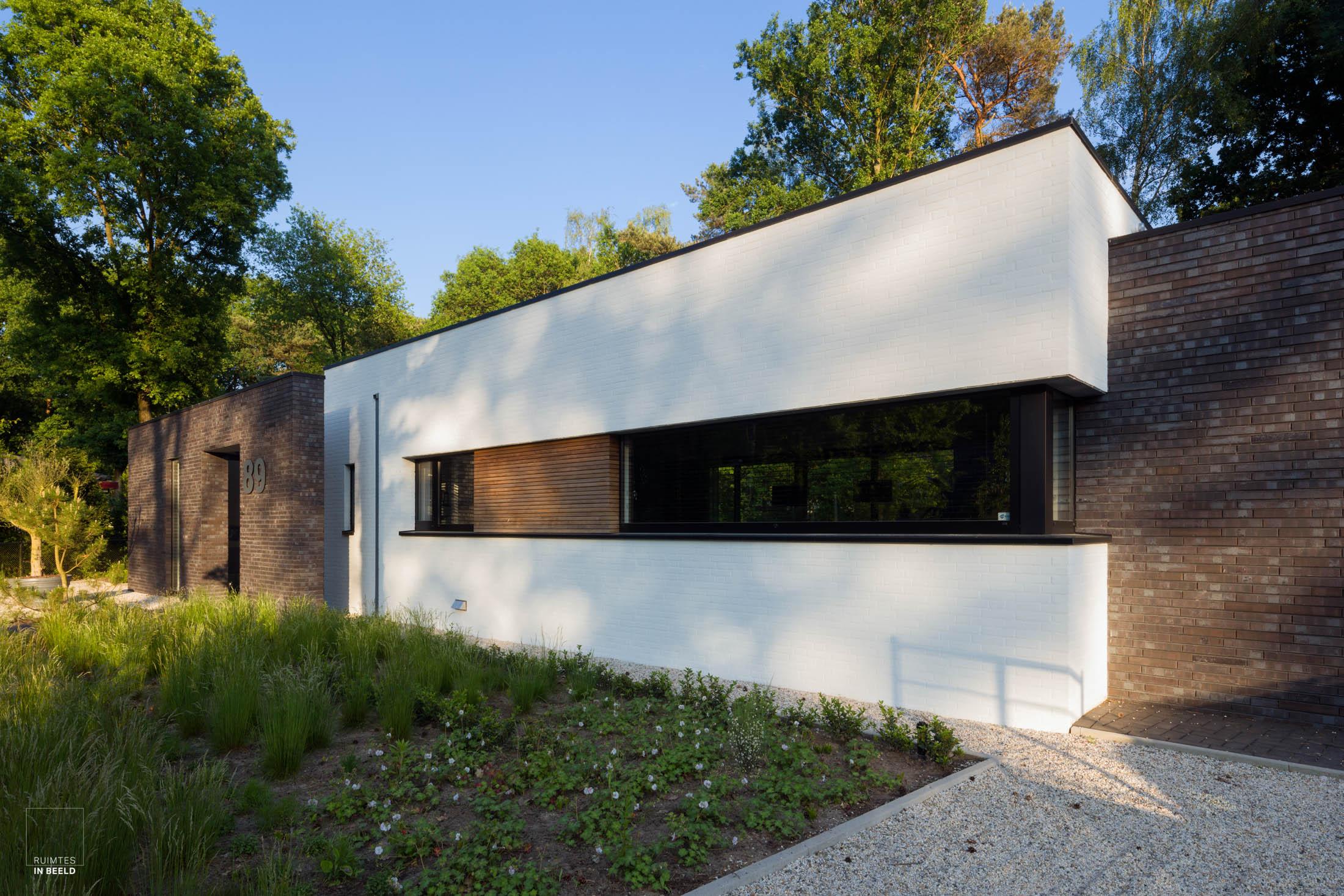 Woonhuis, ontworpen door  Driessen Architectuur