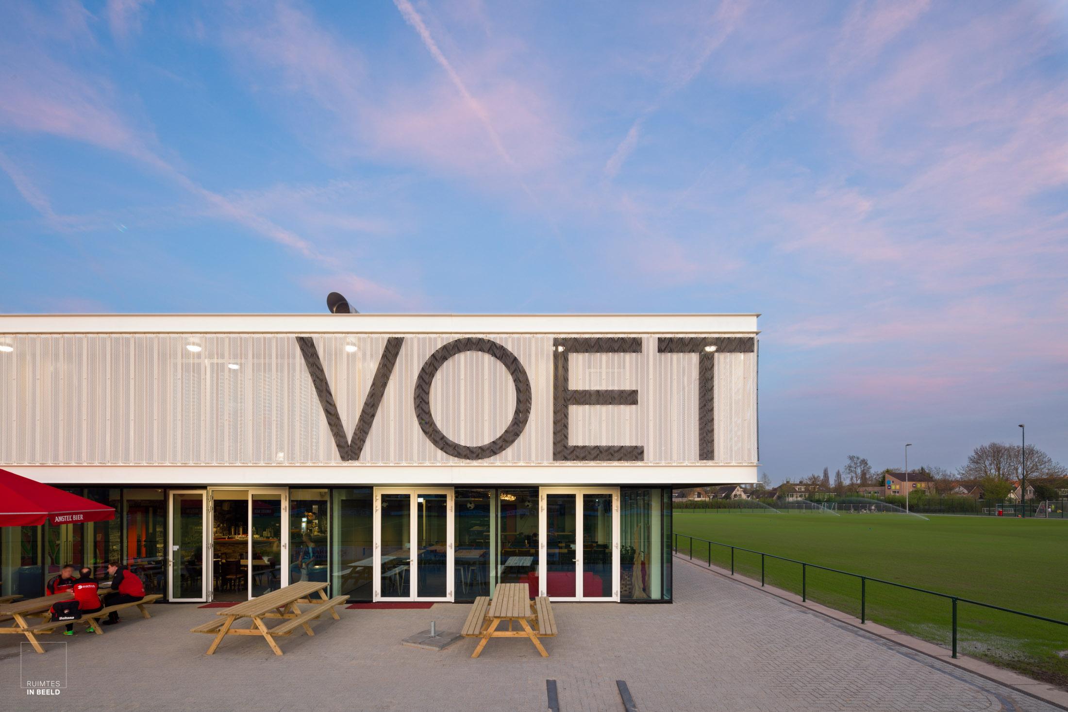 Sportcomplex Fletiomare, Utrecht, ontworpen door  EGM Architecten