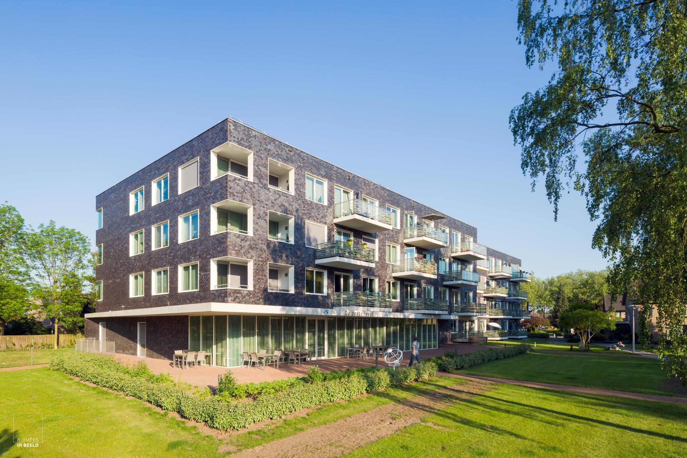 Zorgcentrum Ginneve, Valkenswaard, ontworpen door  EGM Architecten