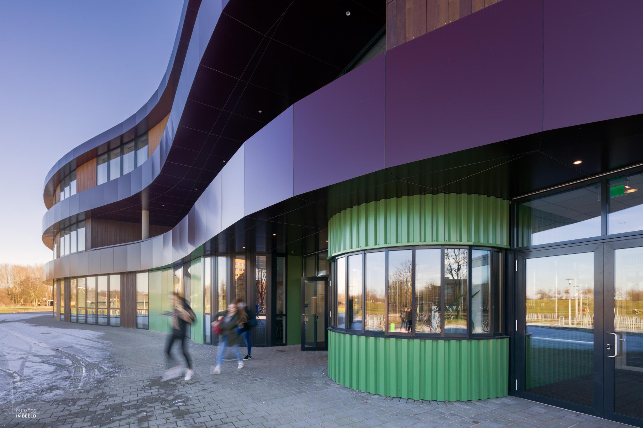 School Hengelo, ontworpen door  Gortemaker Algra Feenstra