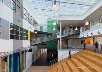 Portfolio van architectuurfotograaf Rob van Esch met voorbeelden van architectuurfoto's van scholen, waaruit duidelijk blijkt hoe de aanwezigheid van leerlingen de foto's verlevendigen