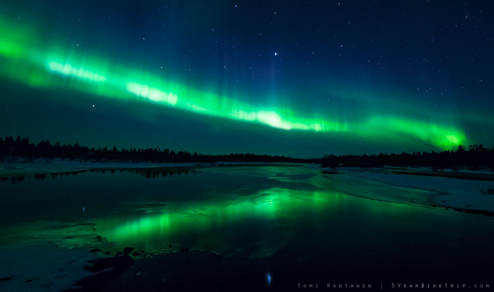 4sec, f/2.8, ISO 1600. All example photos were shot in Inari, Finland.