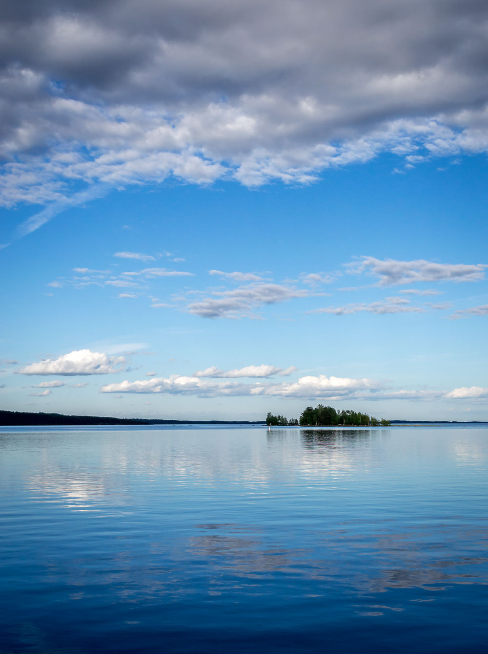 Quintessential Finland, from lake Saimaa (June 2014).