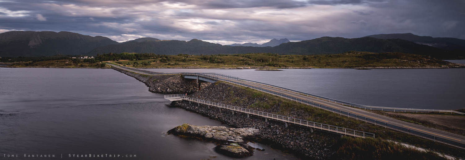 One of the Atlantic Road bridges.