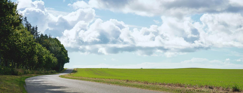 Average Danish road.
