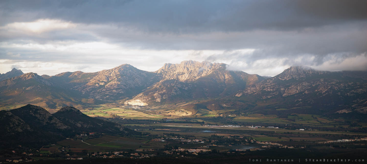 Corsica, high and low.