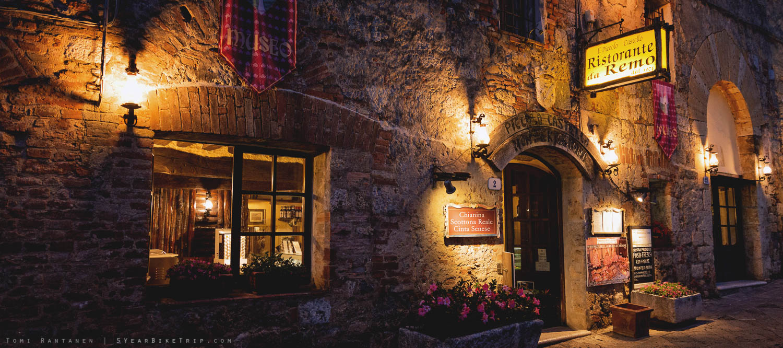 A quaint restaurant in an old castle.