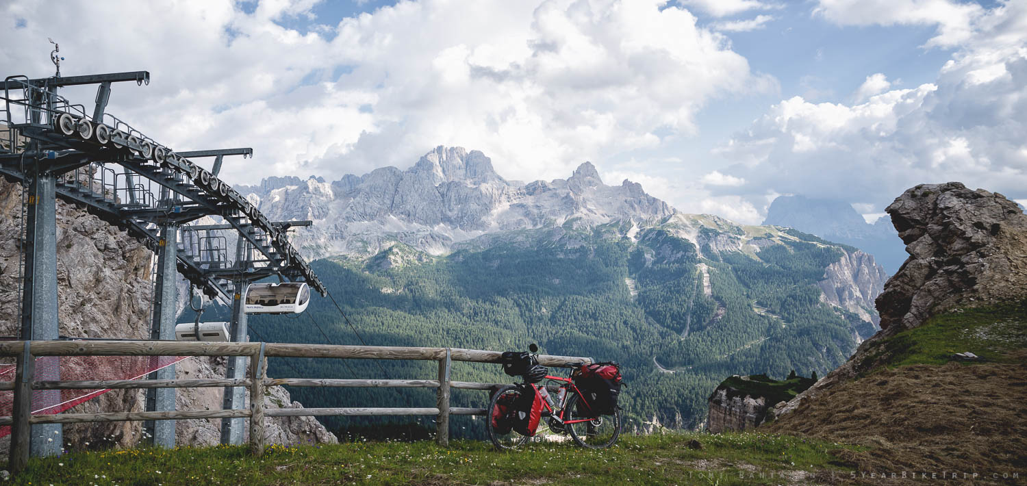 Every mountain should have ski lifts for bicycles!