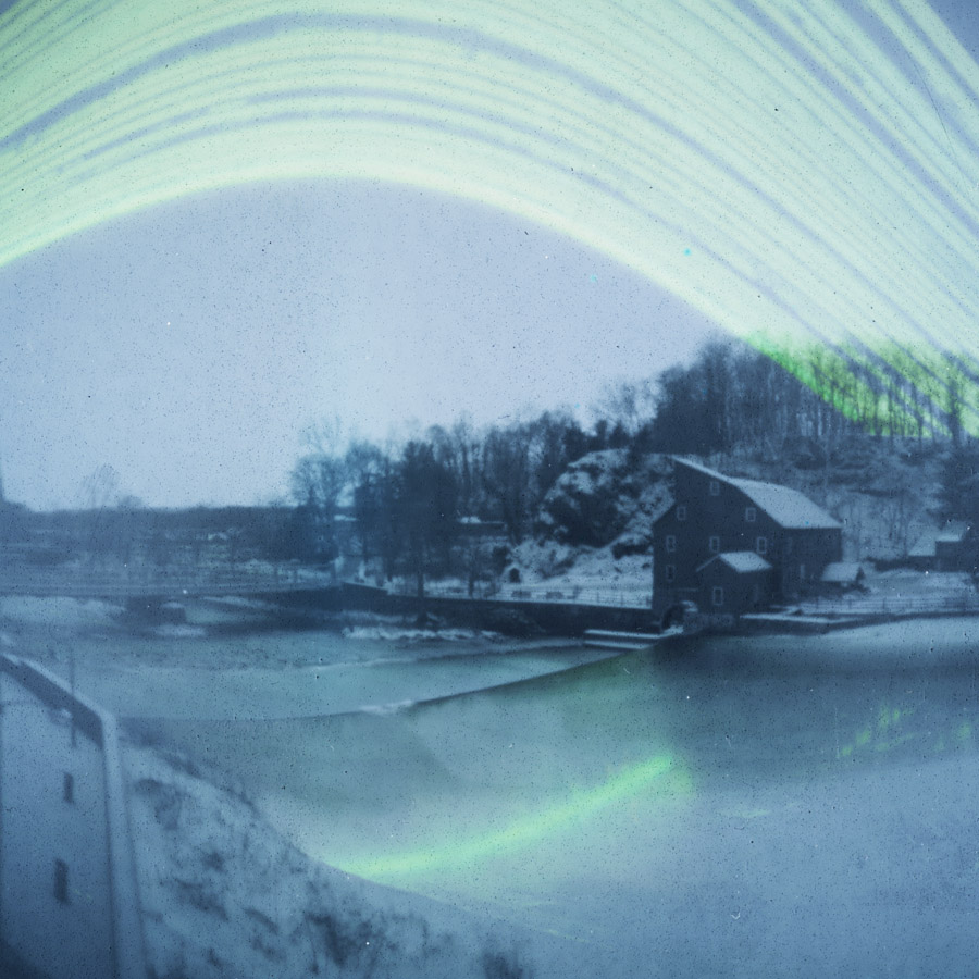 95 day solargraph taken from Hunterdon Art Museum