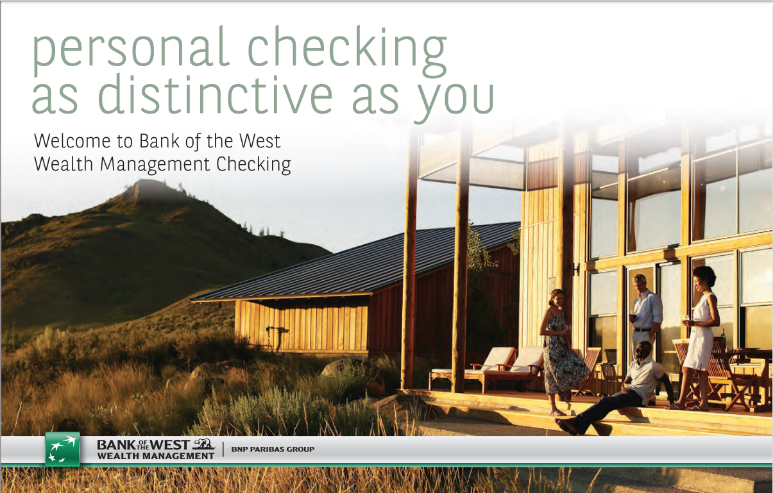 Bank of the West —Wealth Management Direct Mailer