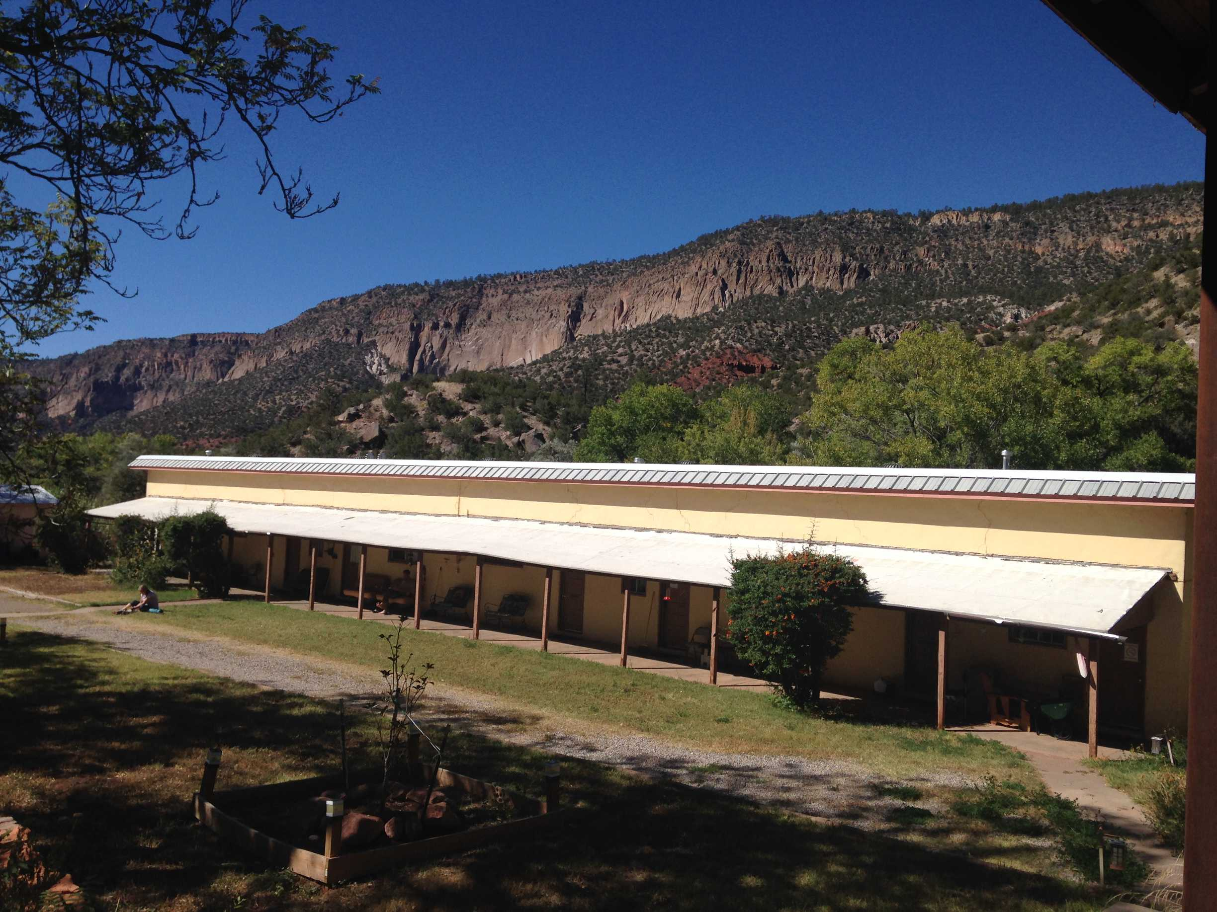 Dormitories at the Jemez National Forest