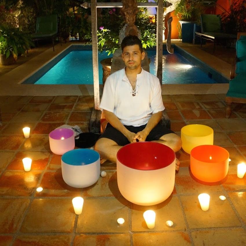 Anthony Ocasio, YRT-200, Tai Chi Instructor, Sound Bath Guru