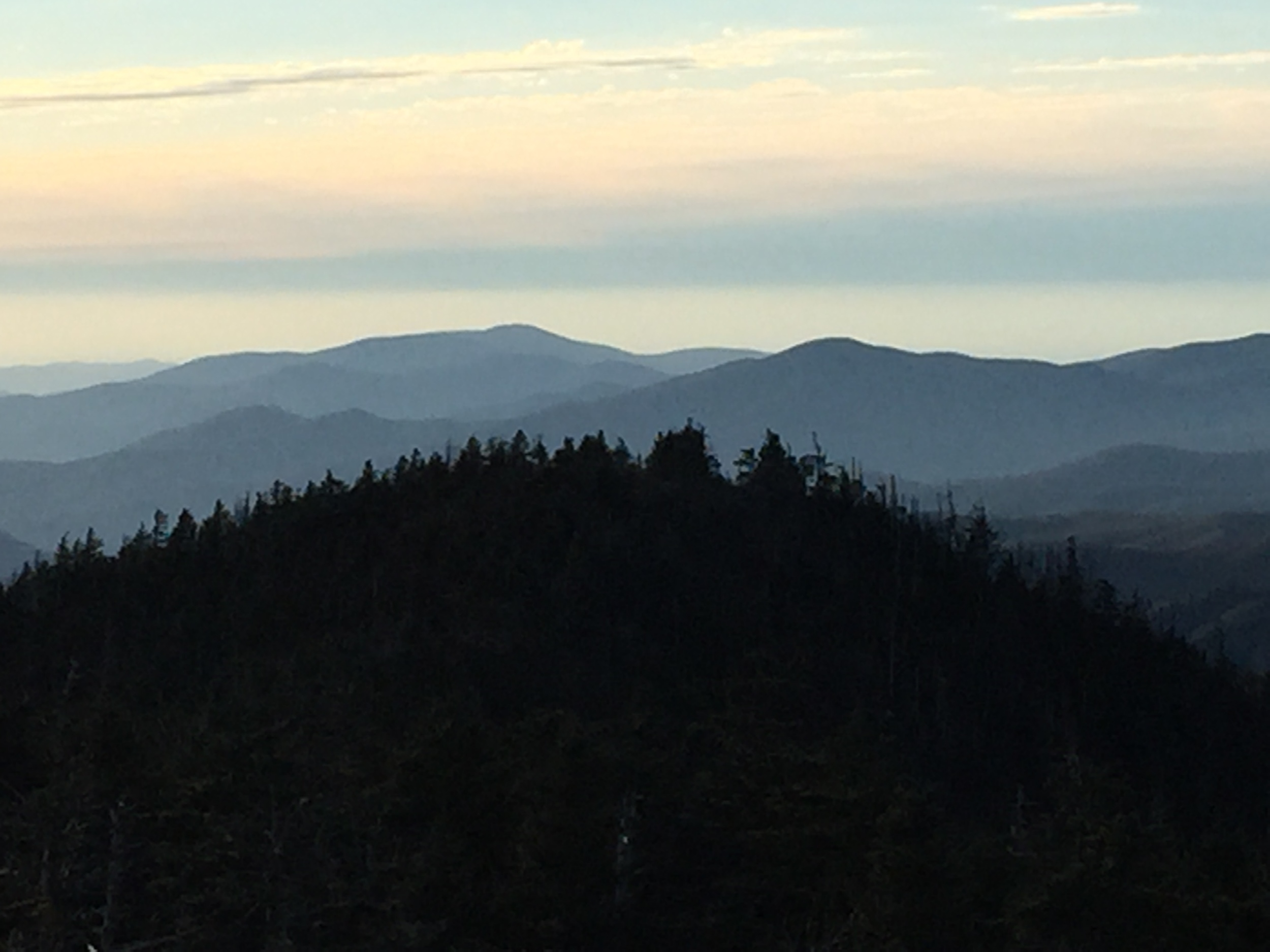 Clingman's Dome- Picture by H. Bennett