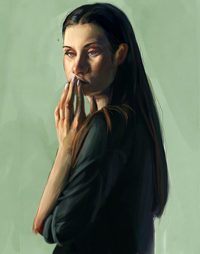Digital Portrait Study 01