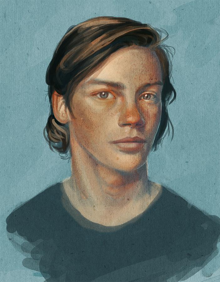 Digital Portrait Study02