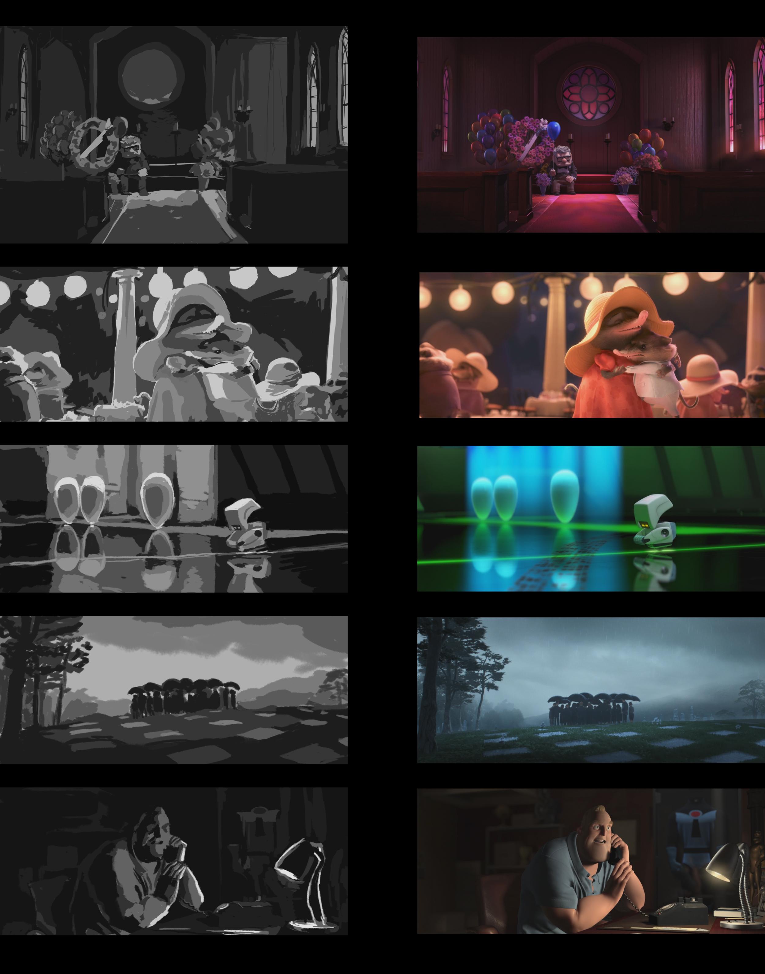 Pixar/Disney Value Studies