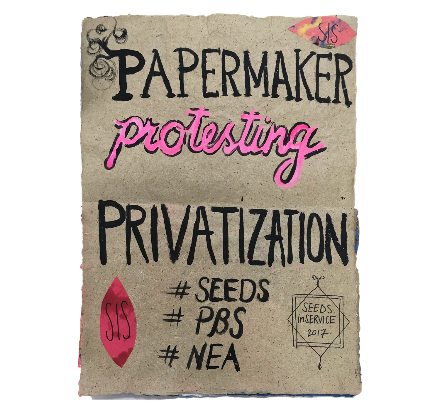Papermaker Protesting Privatization