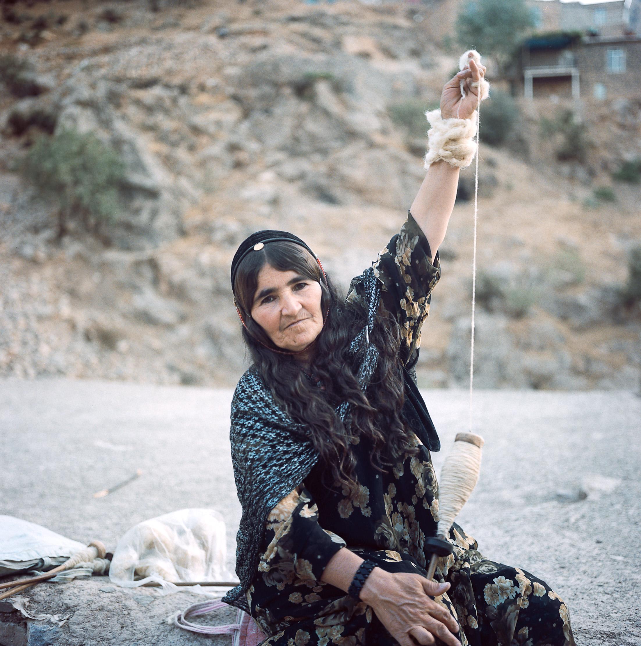03. Old Woman from Palanga.  Iranian Kurdistan, September 2014