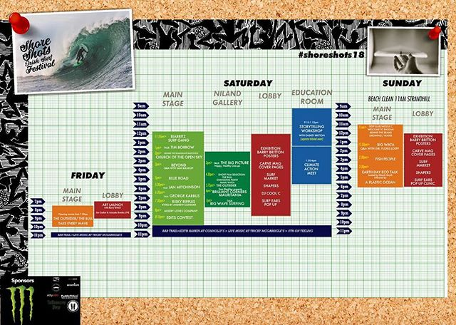 Heading to the festival this weekend? Download our schedule over at www.shoreshots.ie