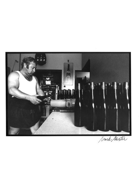 Bottling Prince of Lichtenstein's Reserve
