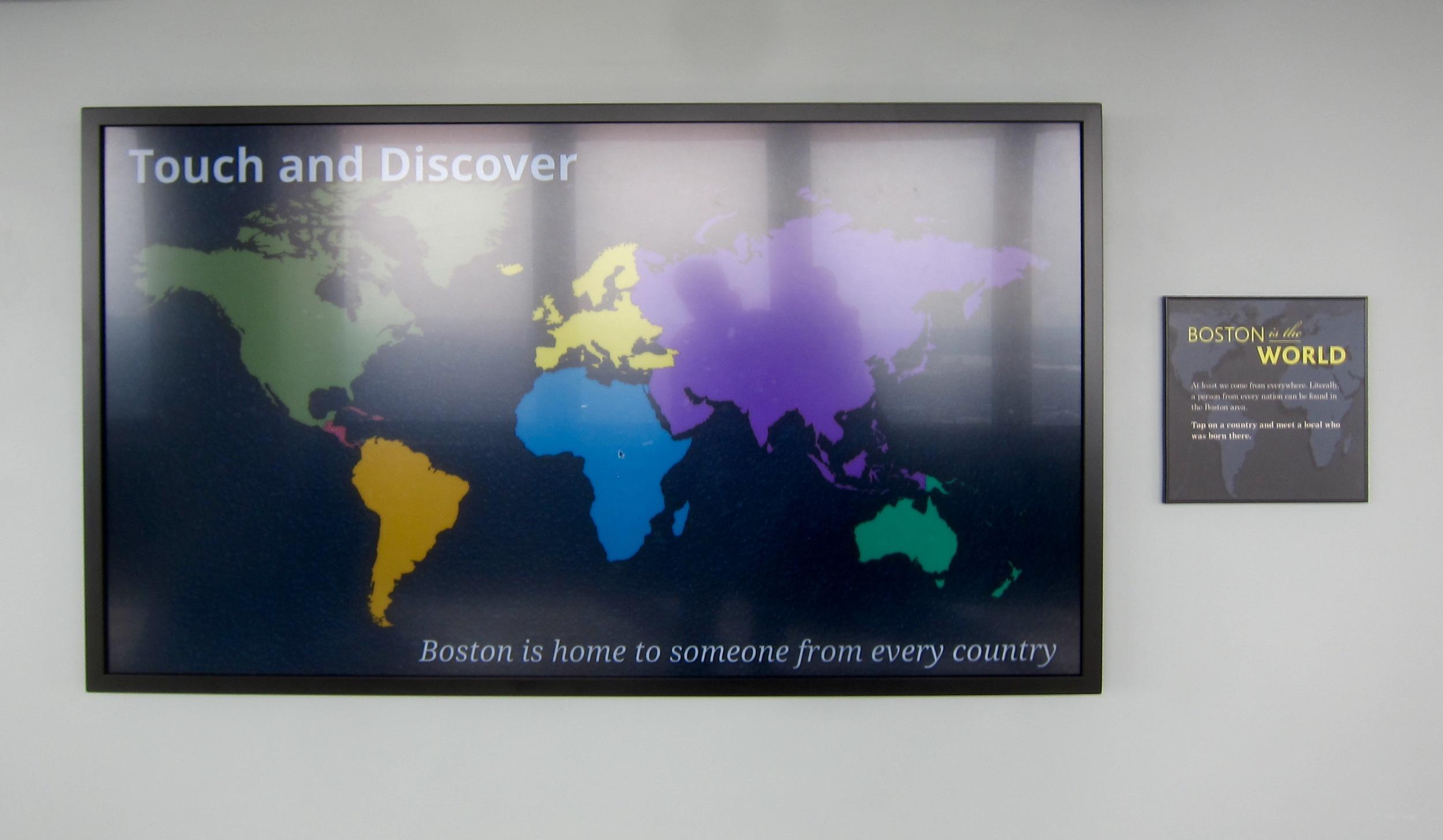 Interactive World Map.