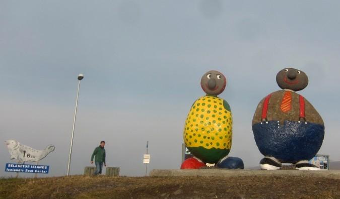 Painted Rock People Welcome Vistors to Selasteur Islands