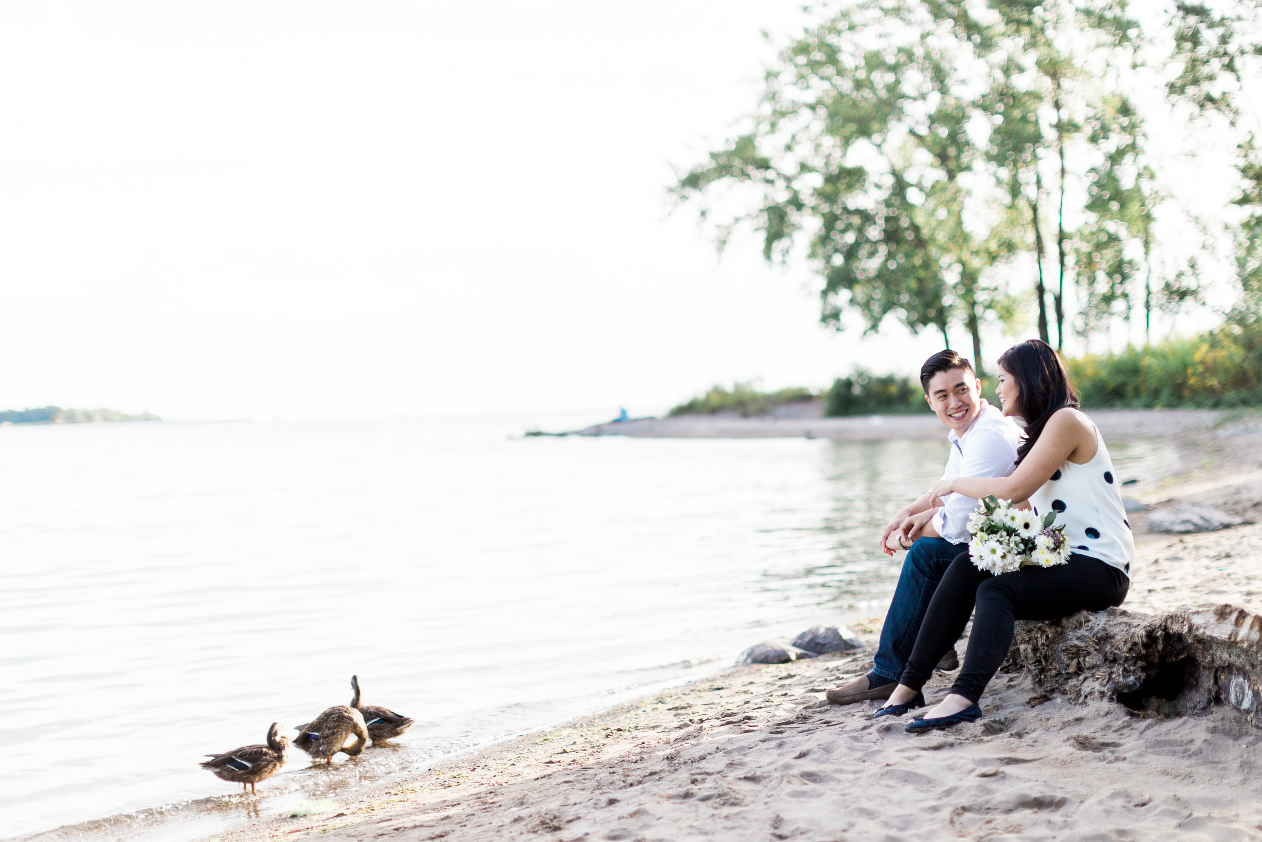 Cherry Beach Engagement Toronto