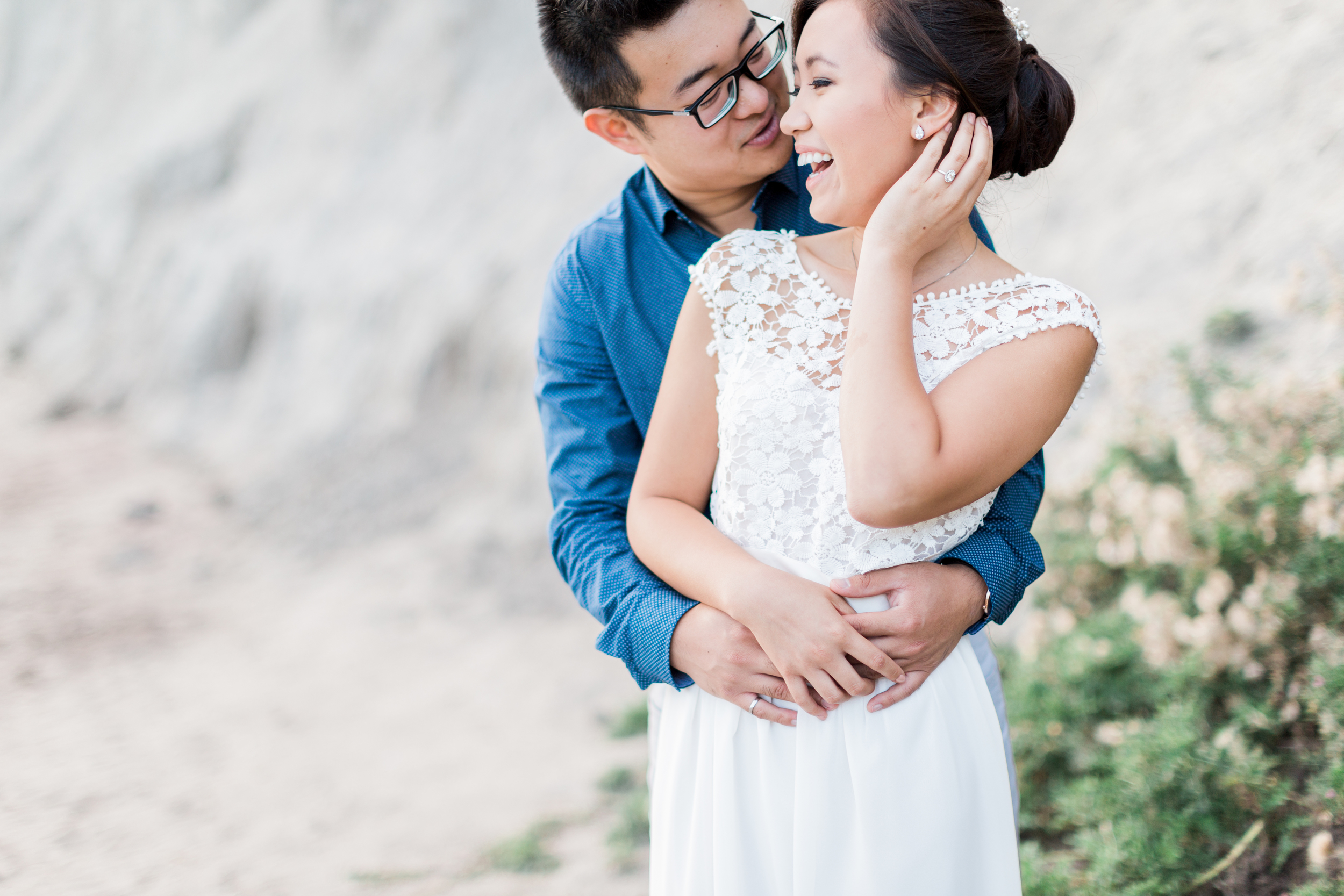 Scarborough Bluffs Toronto Engagement, Cari Zhu Photography