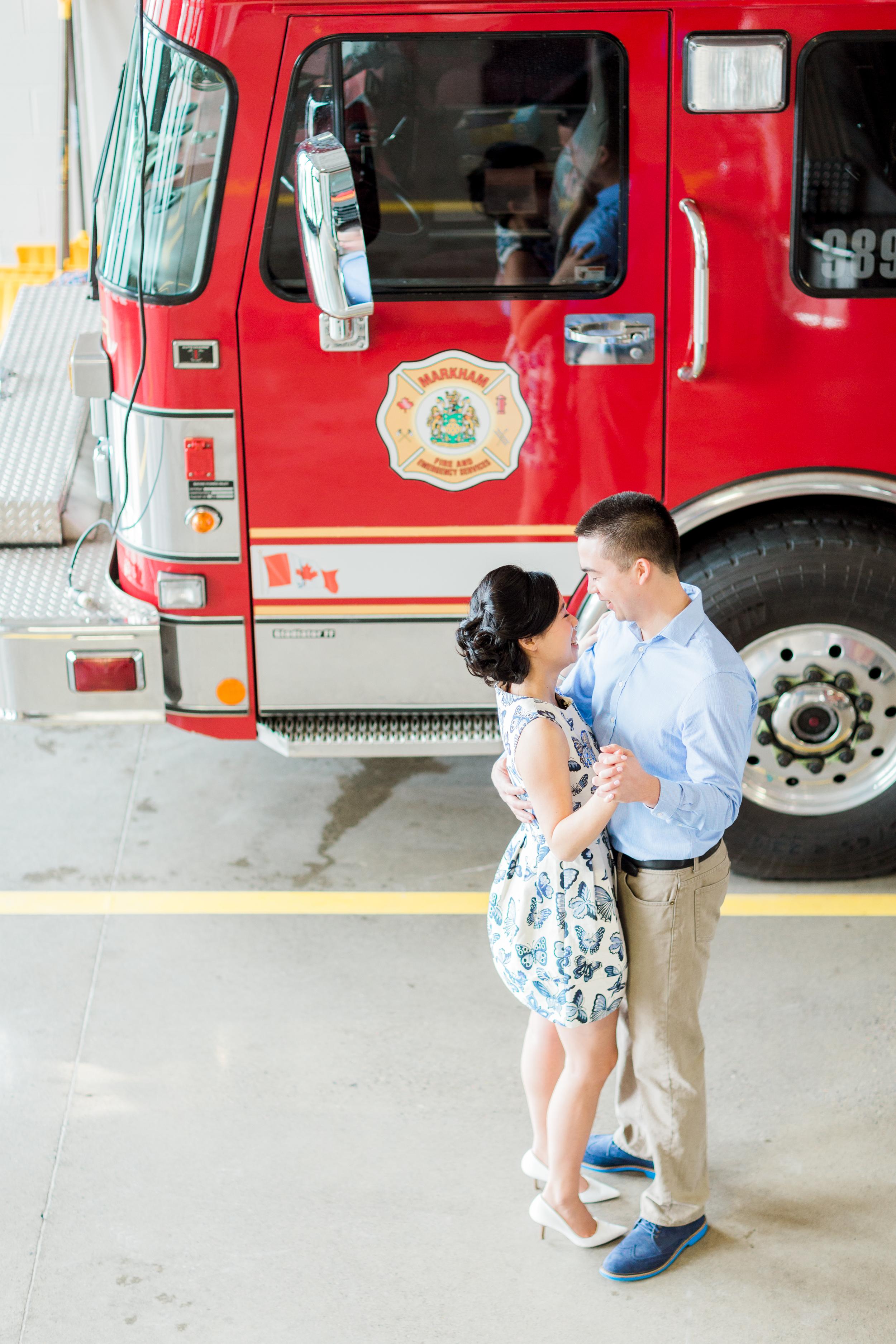 Cari Zhu Photography - Markham Fire Station Engagement Session-4511.jpg
