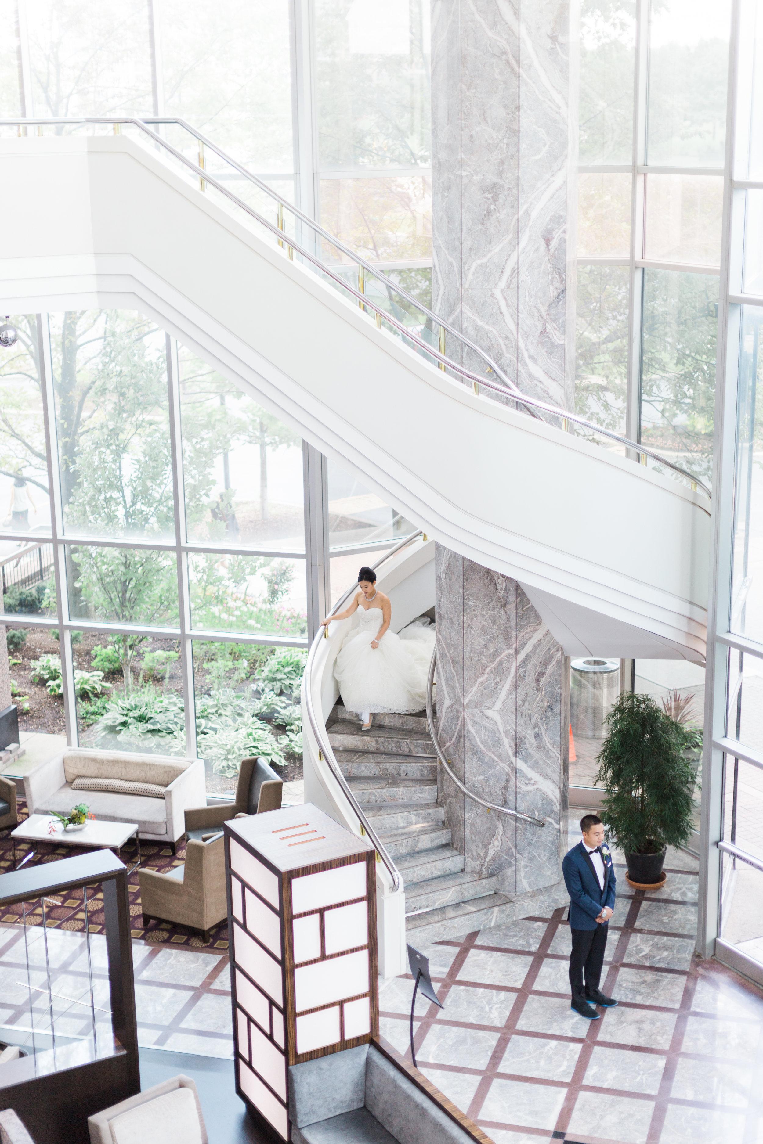 Toronto Fine Art Photographer - Hilton Markham Wedding - First Look-5.jpg
